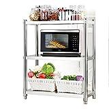 Storage Racks Coffee Microwave Stand Toaster Baker Rack Kitchen 3 Tier Larger Pot Organizers Shelf Hotel Restaurant Corner (Size : Width 30CM)