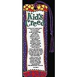 Kid's Creed Confetti Indigo Border 2 x 6 Cardstock Tassel Bookmark, Pack of 12