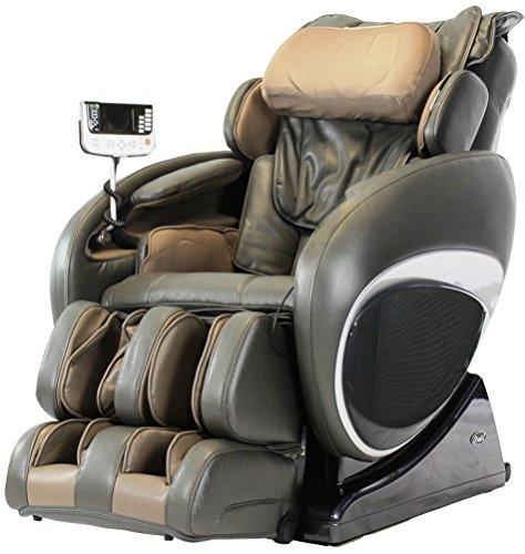 Osaki OS4000TC Model OS-4000T Zero Gravity Massage Chair, Charcoal, Computer Body Scan, Zero Gravity Design, Unique Foot Roller, Next Generation Air Massage Technology, Arm Air Massagers