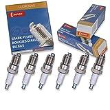 6 pcs Denso Standard U-Groove Spark Plugs 2004-2007 Ford Freestar 3.9L 4.2L V6