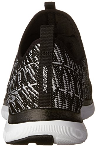 INSIGHTS Skechers 0 Black 2 Women's APPEAL Sneakers FLEX White qwg7H