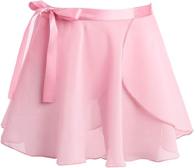 ranrann Falda de Danza Ballet para Niña Falda de Danza Clásica ...