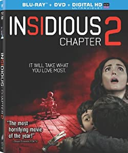 Cover Image for 'Insidious: Chapter 2  (Two Disc Combo: Blu-ray / DVD + UltraViolet Digital Copy)'