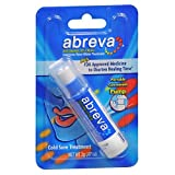 Abreva Cold Sore/Fever Blister Treatment Pump - 0.07 oz, Pack of 3