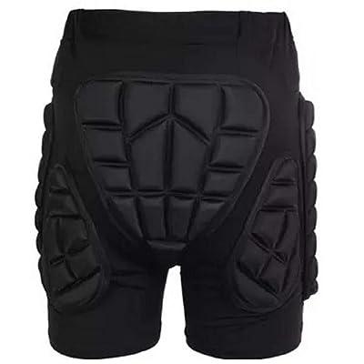 Silfrae 3D Protection Hip Paded Short Pants EVA Pad Short Protective Gear for Ski: Clothing