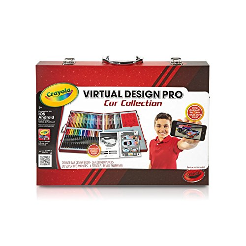 Crayola Virtual Design Pro Cars Set