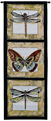 Fine Art Tapestries - dragonfly wall art