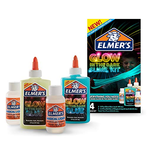Elmer's Glow-in-The-Dark Slime Kit -