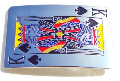 [Best King of Spades Belt Buckle for Men] (Spade Buckle)