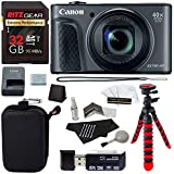 Cheap Canon PowerShot SX730 HS (Black) Camera, Camera Case, Lexar 16GB UHS, Memory Card Wallet, Ritz Gear Tripod, Cleaning Kit, Card Reader/Writer, Polaroid Screen Protector & Accessory Bundle