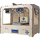 Super-Creator-3D-Printer-with-Dual-Extruder-Wood-Case