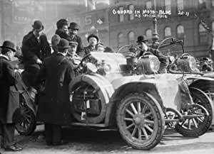 New York - Paris race: Godard in moto-bloc, New York CREATED/PUBLISHED: 1908. e8
