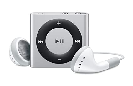 amazon com apple ipod shuffle 2 gb silver 4th generation rh amazon com Small Apple iPod Gold iPod Mini