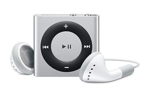 Amazon.com: Apple iPod shuffle 2 GB Silver (4th Generation ...
