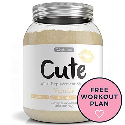 Weight Loss Shakes For Women - Vanilla Protein Based Meal Replacement Powder - Keeps You Healthy and Full - Packed with Nutrients - 3 Delicious Flavors - Great Tasting Diet Control Drinks - 1.1lbs