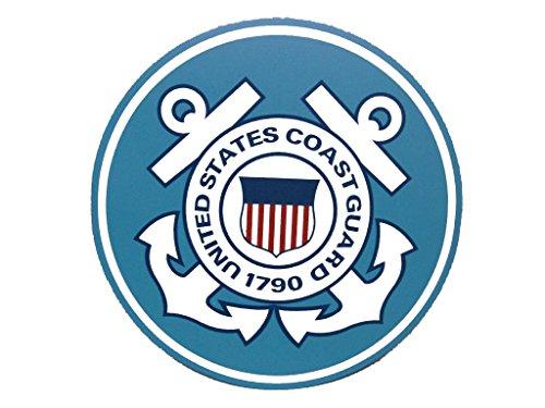 AES U.S. Coast Guard Emblem Crest Circular 5