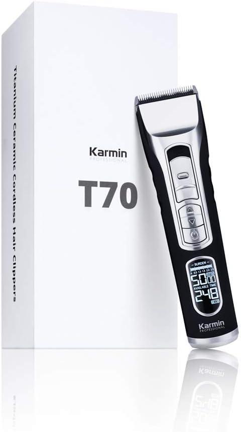 Karmin T70 - Maquina de cortar pelo/cabello profesional para ...