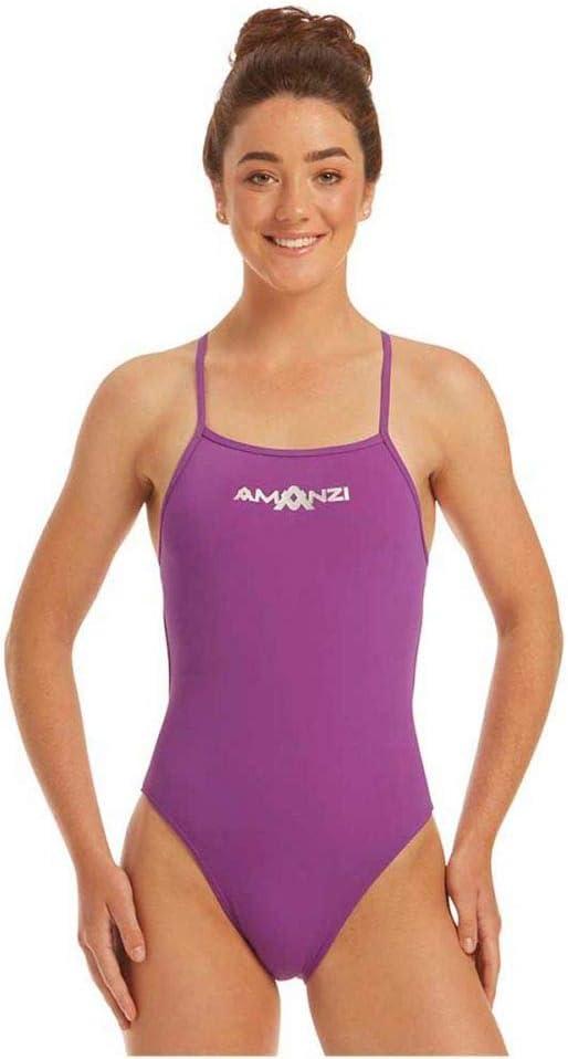 Amanzi Womens Fandango Tie Back Swimsuit (38): Amazon.co.uk