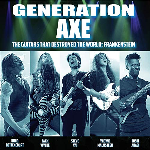 Generation Axe: Guitars That Destroyed That World ? Live In China