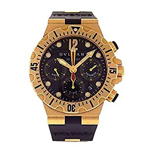 Bvlgari Diagono Professional automatic-self-wind mens Watch SC40G (Certified Pre-owned)