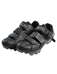 Mountain bike riding shoes double density insoles men and women section of the bicycle lock shoes F-65