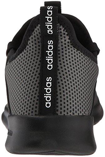 adidas Performance Women's Cloudfoam Pure Running Shoe, Black/Black/Grey, 5 M US by adidas (Image #2)