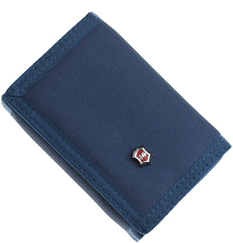 JEMINAL New Mens Grey Canvas Trifold Wallets for Boys Purse with id window