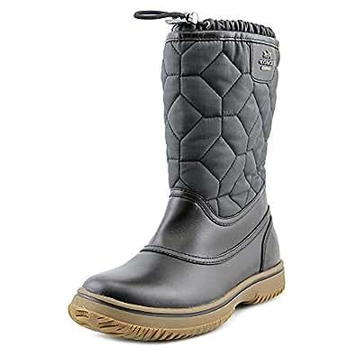 Amazon.com | Coach Sparrow Women US 7 Black Winter Boot