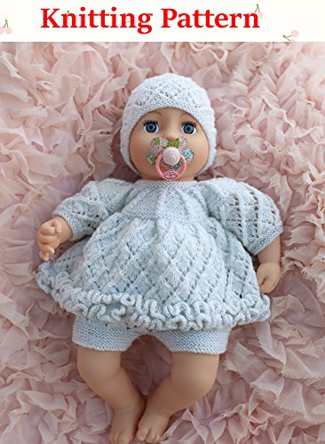 Amazon Com Double Frilled Angel Top Pants And Hat Knitting Pattern