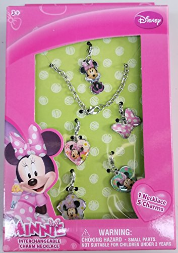 Disney Jasmine Child Slippers - Minnie Mouse MM469 Jewelry Set in a Box
