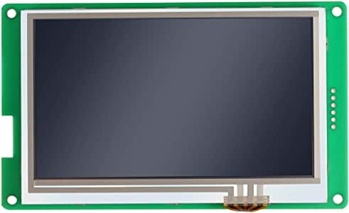 RISHIL WORLD 4.3 inch Touch LCD Display 4.3'' Control Panel Screen with Connected Cable for CR-10S PRO 3D Printer