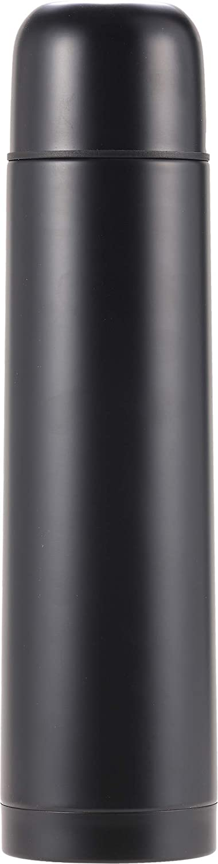 1L Cressi Stainless Steel Thermal Flask 1 Botella t/érmica de Acero Inoxidable para Deportes Unisex-Adult