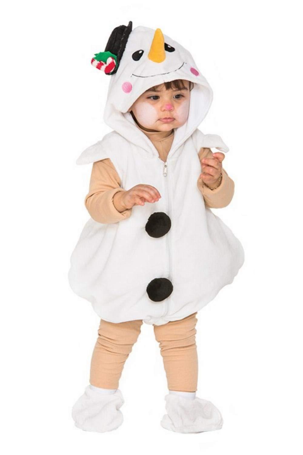 Fyasa 706497-tbb Little disfraz de muñeco de nieve, pequeño ...