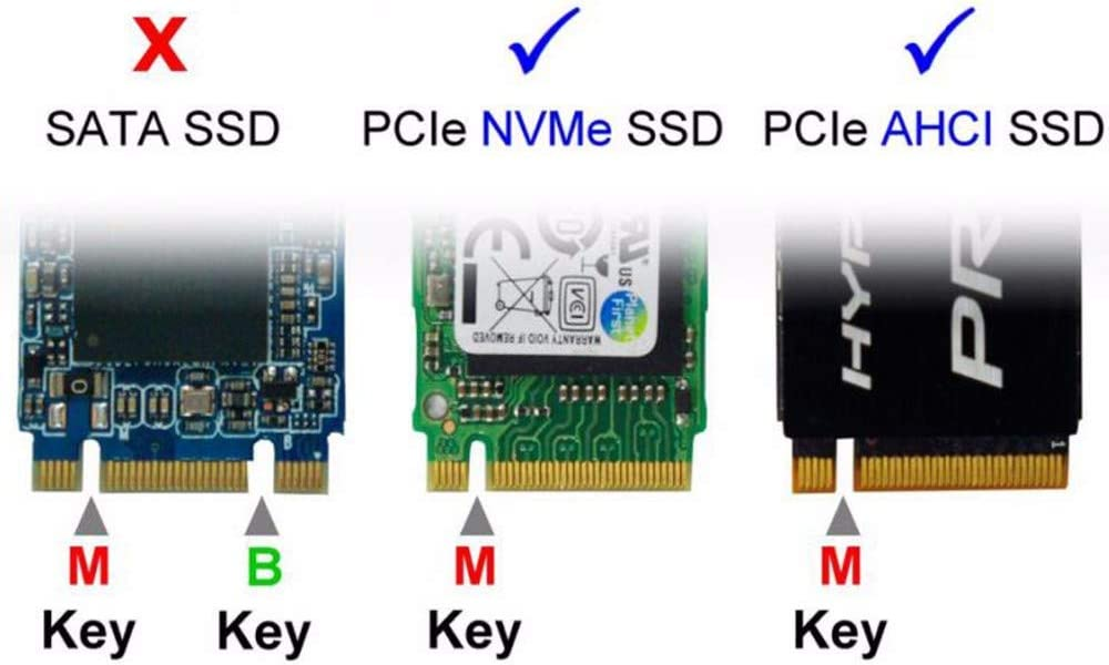 Computer Cables PCI-E 3.0 x4 Lane Host Adapter Converter Card M.2 Yoton M Key SSD to Yoton PCI Express Cable Length: Card
