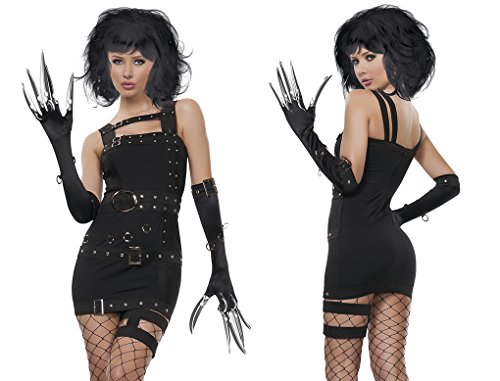 Faerynicethings Adult Size Ms Edward Scissorhands Bride Costume - Small 2-4 -