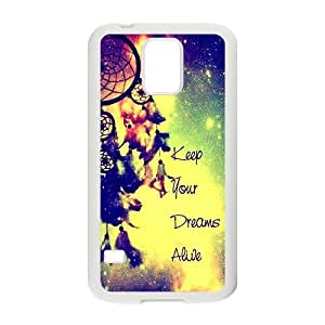 Distinctive colorful dreamcatch Cell Phone Case for Samsung Galaxy S5