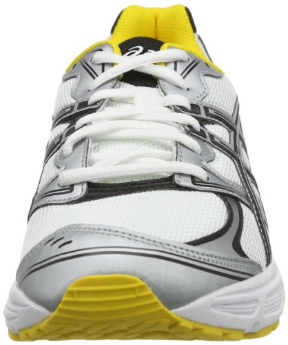 Asics Patriot 6, Men Low-Top Sneakers White/Black/Yellow