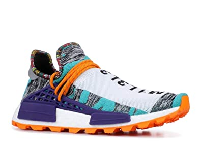 e526599aa adidas Originals Pharrell x Solar Hu NMD Shoe - Men's Casual Hi Res Aqua/ Core