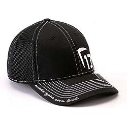 13 Fishing H1-FFM The Professional (Black) Flexfit - Size: Medium
