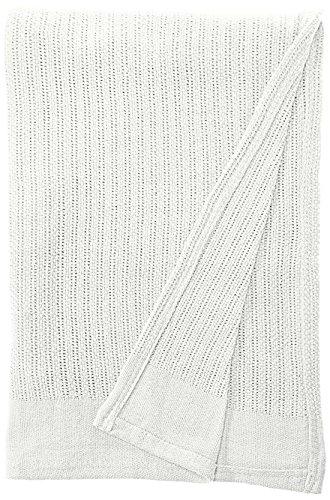 (Fiesta Thermal Cotton Blanket Full/Queen White)
