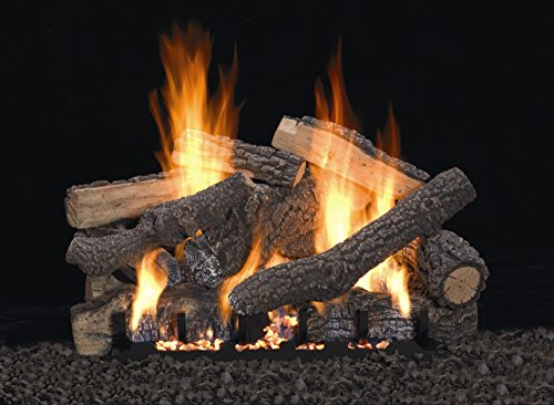 Ponderosa Refractory Log Set, 13-piece, 24-inch (LOG SET ONLY)