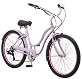 "Schwinn Mikko Women's Cruiser Bike, 7-Speed, 26"" Wheels, Purple"