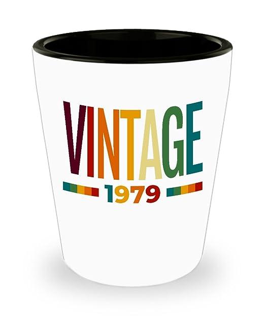 Vaso de chupito vintage 1979 para regalo de 40 cumpleaños ...