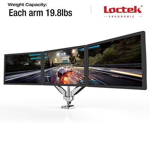 Loctek Full Motion swivel Monitor