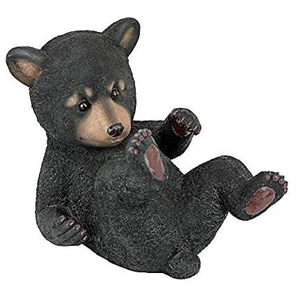 Amazon.com: Design Toscano Roly-Poly - Estatua de oso ...