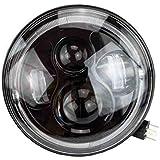 7 led scheinwerfer f r harley davidson motorrad projektor. Black Bedroom Furniture Sets. Home Design Ideas