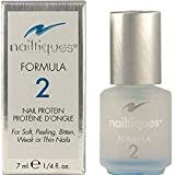 Nailtiques Nail Protein Formula 2, Treatment 0.25 fl oz by Nailtiques