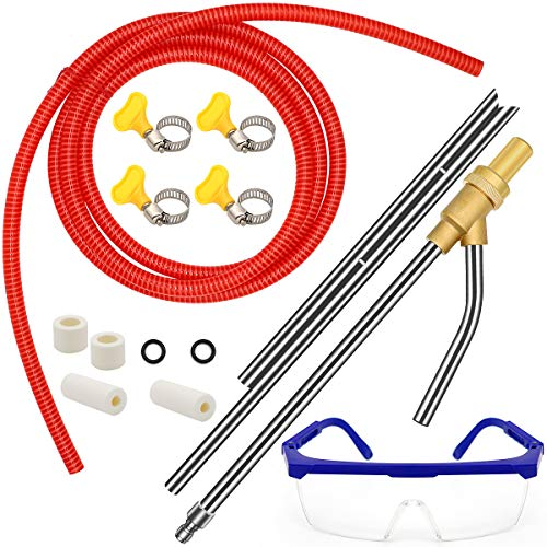 5000 PSI Wet Sandblaster Attachment with... Pressure Washer Sandblasting Kit