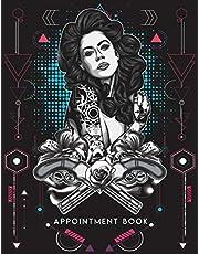 Tattoo Appointment Book: Large Undated 8 Columns Tattoo Appointment Book with 15 Minute Increments for Tattooists and Tattoo Shops.