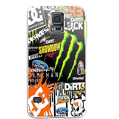 Ken Block DC Shoes Monster Rally Team for Iphone and Samsung Galaxy Case (Samsung Galaxy S5 white) (Monsters Inc Phone Case Galaxy S5)